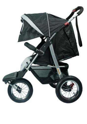 """mamakiddies 2in1 Aluminium Baby Pram Baby Stroller Jogger Push chair Bassinet <br/> Use code 'PATPAT"""" at check out to get extra 5% OFF"""