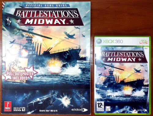 Xbox 360 Game - Battlestations: Midway c/w Official Guide
