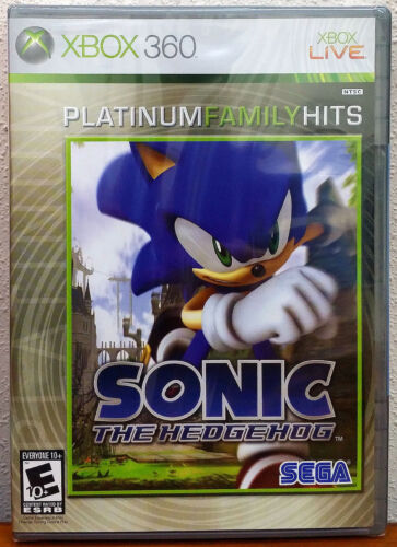 Xbox 360 Game - Sonic the Hedgehog (New)