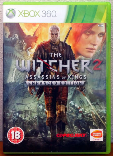 Xbox 360 Game - The Witcher 2: Assassins of Kings (Enhanced Edition)