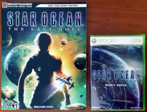 Xbox 360 Game Star Ocean: The Last Hope (English) c/w Official Guide - Both New