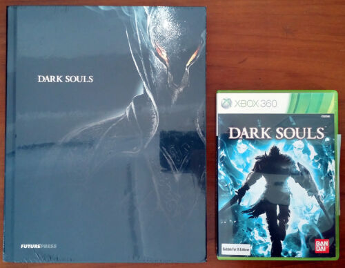 Xbox 360 Game - Dark Souls c/w New & Sealed Collector's Edition Official Guide