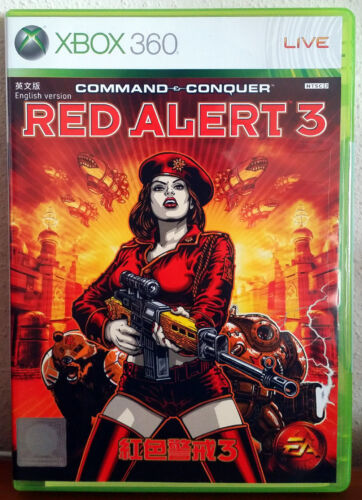 Xbox 360 Game - Command & Conquer: Red Alert 3