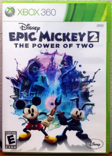 Xbox 360 Game - Epic Mickey 2: The Power of Two