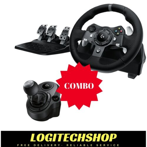 Logitech G920 Driving Force Wheel for Xbox One & PC + Shifter (Free Delivery) <br/> Authorised Logitech Australian reseller