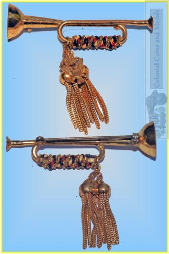 USA Military Related Trumpet or Bugle Brooch.1961 - 1975 (Vietnam) - 36060