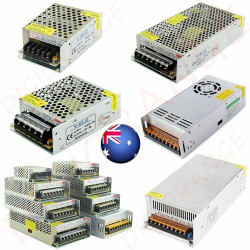 NEW AC 240V To DC 12V/24V 10A~60A Switch Power Supply Adapter For LED Strip AU  <br/> 120W~720W √Fast Ship fro NSW√12 Months Warranty
