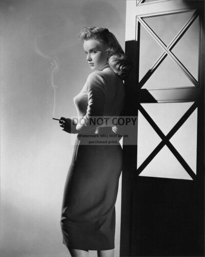 """ANNE FRANCIS IN THE FILM """"GIRL OF THE NIGHT"""" - 8X10 PUBLICITY PHOTO (AZ818)"""