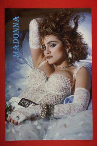 Madonna Like A Virgin Outfit Music Album Cover Celebrity Poster 24X36 OOP   MADA