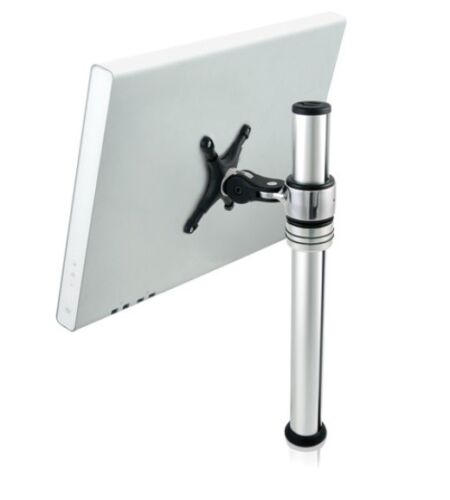 "Visidec Focus Micro LCD Monitor Single Arm for 12"" 21"" V-AT-MI Clamp & Bolt On"