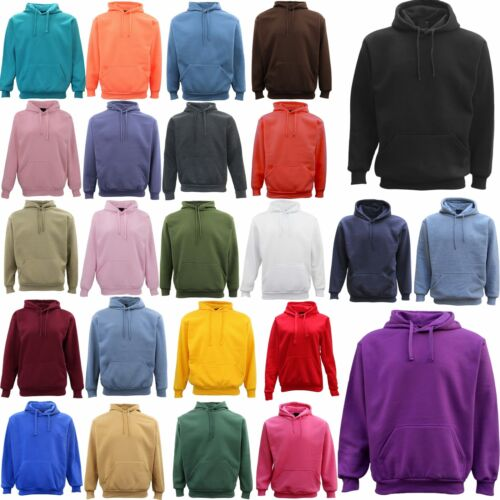 Adult Unisex Men's Plain Basic Pullover Hoodie Sweater Sweatshirt Jumper XS-5XL <br/> Same Day Shipping From MEL, AU*. Embroidery Available.