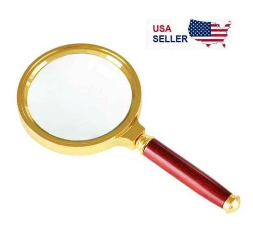 """Magnifying Glass 10X Reading Magnifier HANDHELD 2"""" Glass Lens Jewelry Loupe LoopLoupes & Magnifiers - 34084"""