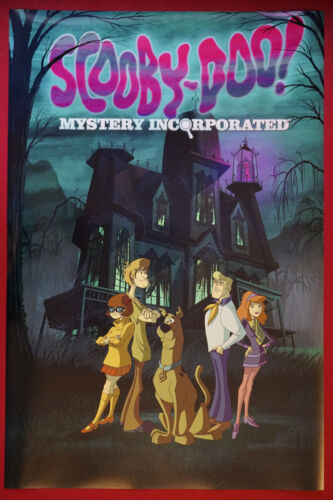 Scooby Doo Mystery Incorporate Shaggy Fred Classic Cartoon Poster 24X36 NEW SDMI