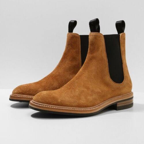 NIB Rag & Bone Spencer Chelsea Boots with Dainite Sole (Made in Italy) RRP $750