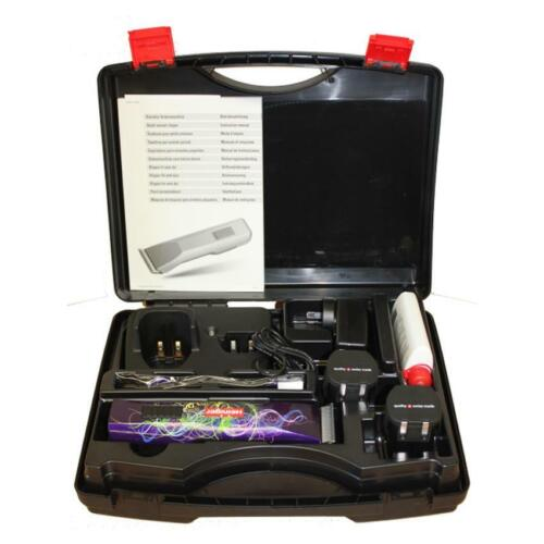 Heiniger Saphir Style Dog & Small Animal Cordless Clippers, Vet Pack Clipper <br/> Supplied With 2 Batteries & Carry Case