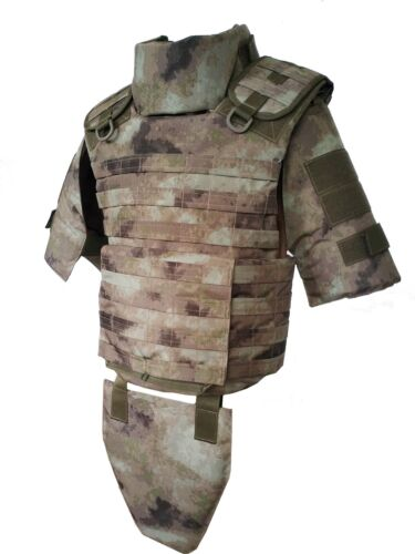 size M Plate Carrier ATACS-AU Body Armor Vest MOLLEOther Current Field Gear - 36071