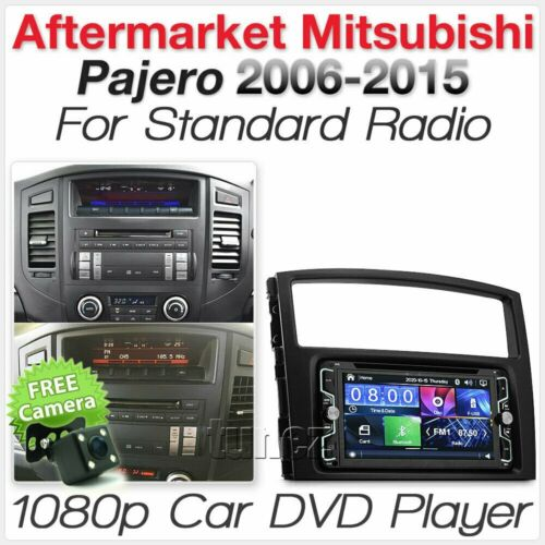Car DVD MP3 Player For Mitsubishi Pajero 2006-2015 Stereo Head Unit Radio CD TU