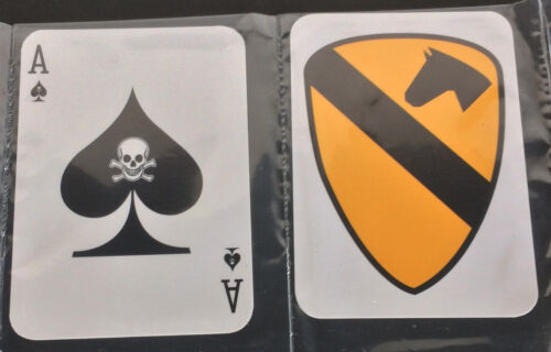Reproduction Vietnam War Death Cards Ace of Spades 1st Air CavalryReproductions - 156445