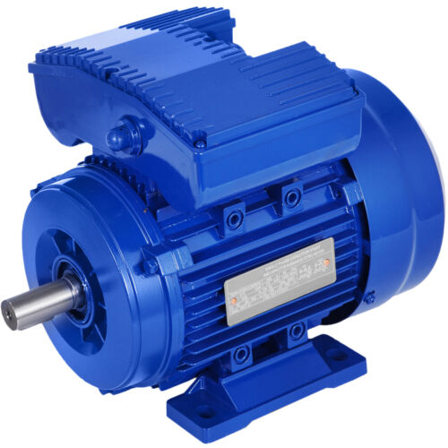 0.75kw Electric Motor 1420pm Reversible Cscr Single Phase 1hp Saw 240v Aus 19mm <br/> ⭐IP55⭐Totally Enclosed Fan Cooled⭐Aluminum Construction