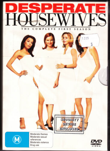 Desperate Housewives - The Complete First Season - DVD (Brand New Sealed R4 PAL)