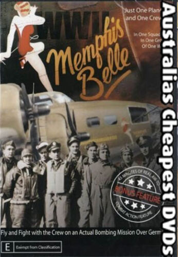 Memphis Bell DVD NEW, FREE POSTAGE WITHIN AUSTRALIA REGION ALL