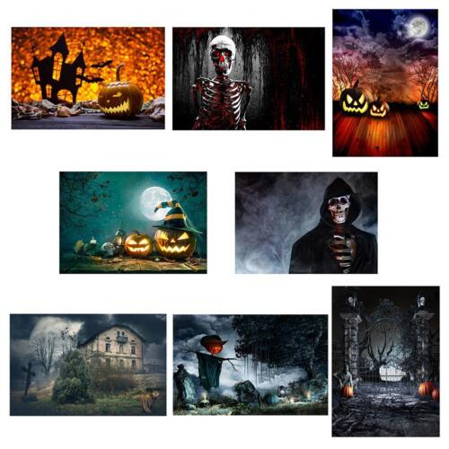 Halloween Party Festival Vinyl Wall Photography Background Backdrop Mural Banner