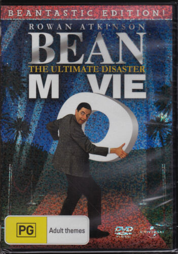 Bean Movie - The Ultimate Disaster - DVD (PAL Regions 2,4 & 5 Brand New Sealed)