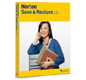 Symantec Norton Save & Restore 2.0 For Winxp/ Vista