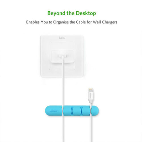 Ugreen Cable Organizer (2pcs/ Pack) - Blue 30484 Acbugn30484