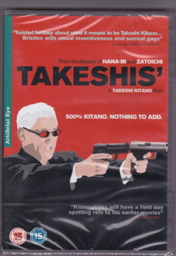 Takeshis' - DVD (Artificial Eye Region 2) Brand New Sealed