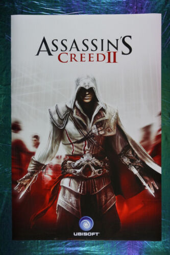 Assassin's Creed II  2  Game Picture Poster Ubisoft 24X36 New  ASC2
