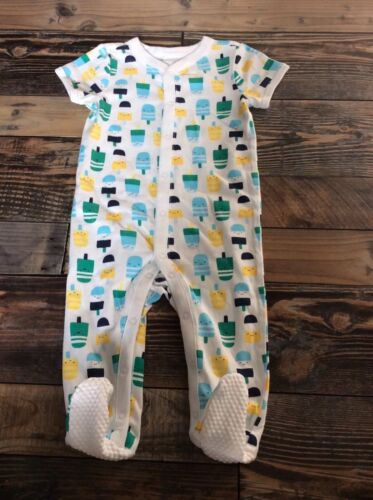GYMBOREE Popsicle Baby Boy Sleeper Footed Nwt Size 0-3 M
