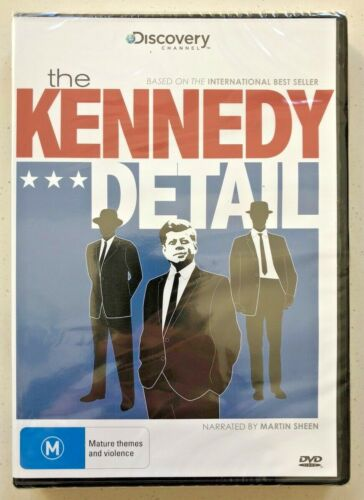The Kennedy Detail (DVD, 2012) Region 4 - NEW & SEALED