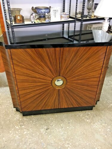 Hand Made  Art Deco Style Cabinet