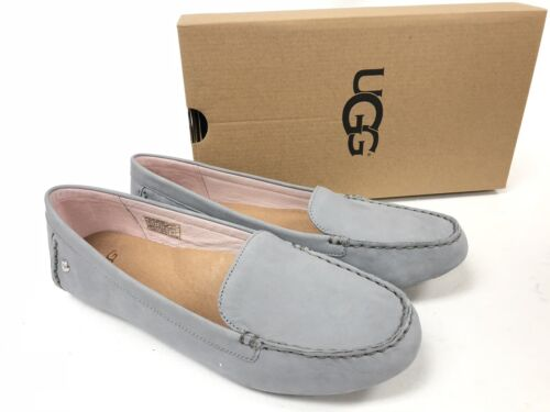 UGG Australia Milana II Driver Loafers Seal 1098209W Suede Leather Flats size