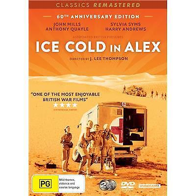ICE COLD IN ALEX DVD, BRAND NEW, 2018 RELEASE, REGION 4, FREE POST
