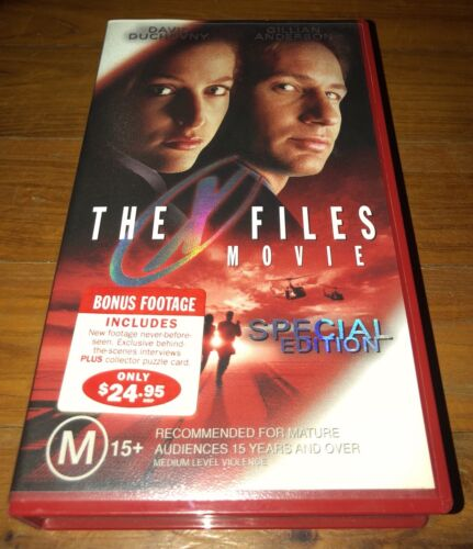 THE X FILES: SPECIAL EDITION: VHS VIDEO TAPE: NEW