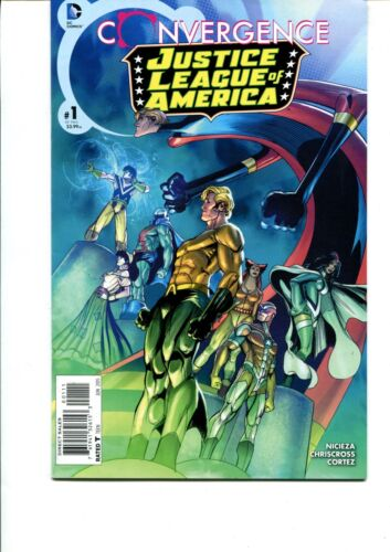 JUSTICE LEAGUE OF AMERICA: CONVERGENCE #1 FIRST PRINT VF