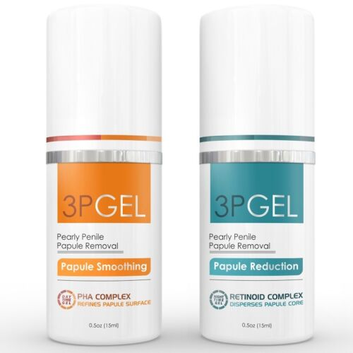 Pearly Penile Papules Removal Cream Treatment - 3pgel - 3p Gel Proven Therapy!