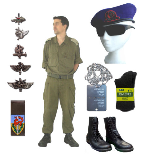 GIVATI infantry Brigade IDF Israeli Army Cotton Combat Fatigue Uniform Full SetOther Militaria - 135