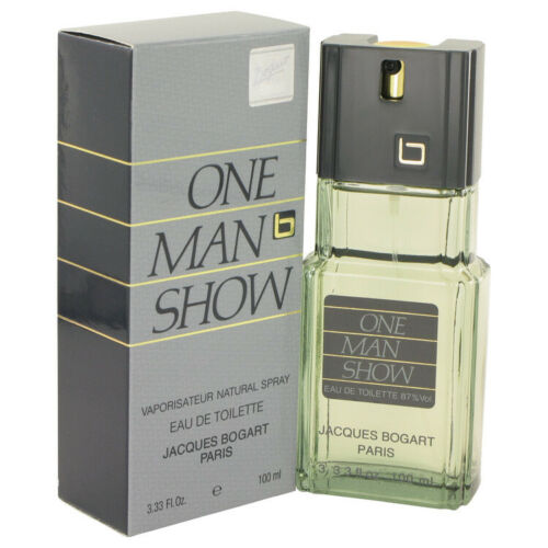 ONE MAN SHOW 100ML EDT SPRAY BY JACQUES BOGART MEN'S PERFUME NEW FRAGRANCE JACQU