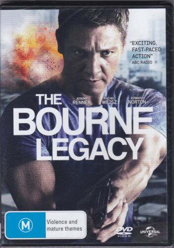 The Bourne Legacy - DVD (Brand New Sealed) Regions 2,4 & 5 PAL