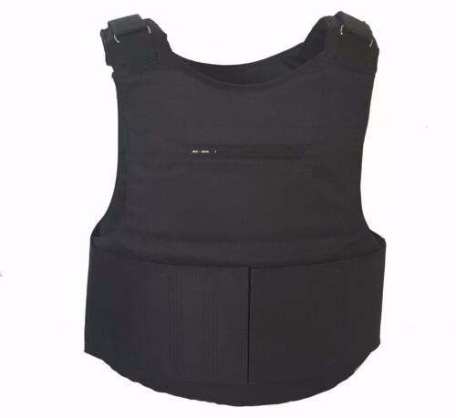 Body Armor Plate Carrier size XL, black vest with plates III grade Other Current Field Gear - 36071