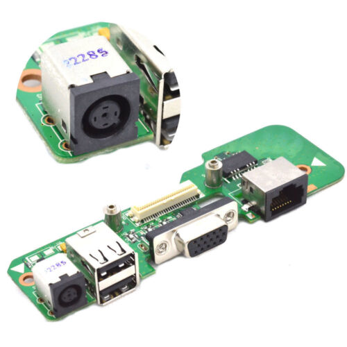 DELL INSPIRON 1545 48.4AQ03.021 DR1 ROUND DC JACK POWER BOARD USB Ethernet 01284