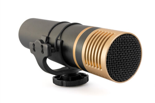 Opteka VM-3000 Stereo Condenser Metal Microphone for Canon, Nikon, Pentax, Sony