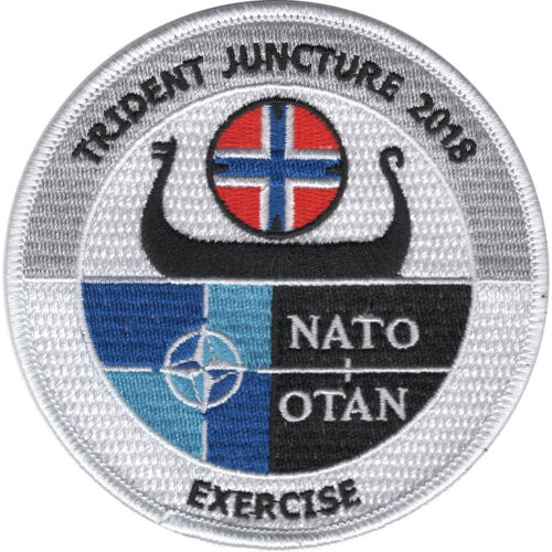 NATO Trident Juncture 2018 PatchPatches - 36078