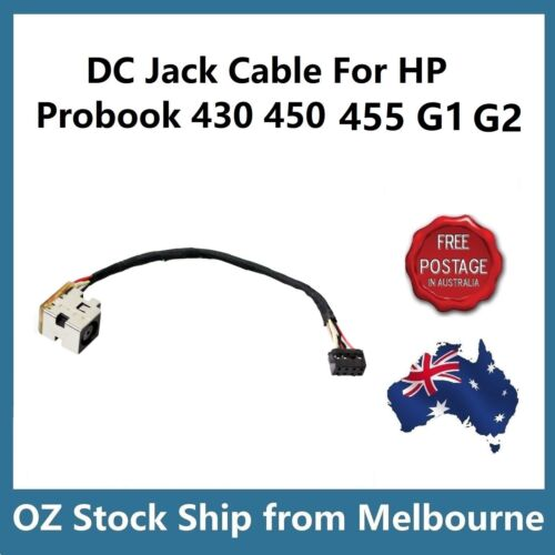 DC Jack Power Socket Cable For HP ProBook 430 440 450 455 G1 G2 676707-FD1