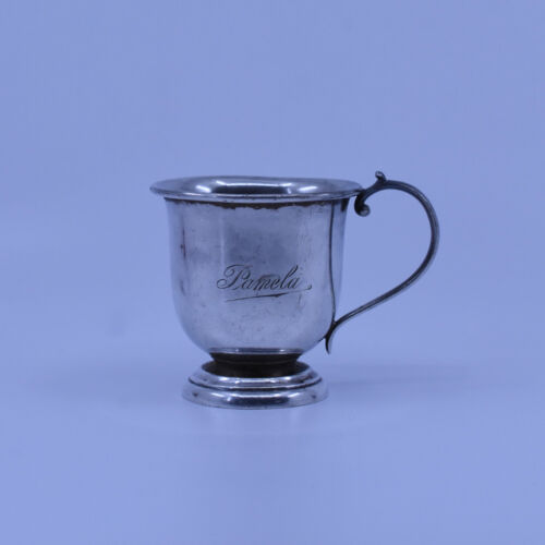 Rare Australian J.M Dempster Sterling Silver Christening Cup, c1930's