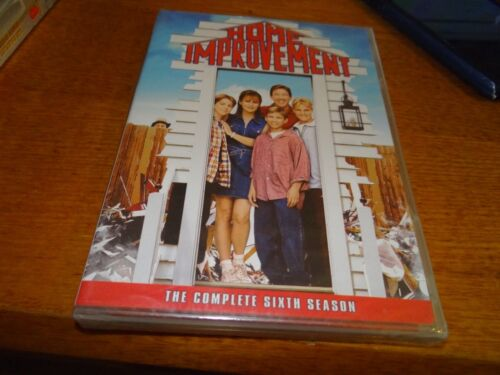 HOME IMPROVEMENT THE COMPLETE SIXTH SEASON 6 DVD *BRAND NEW*