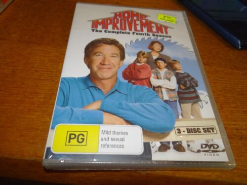 HOME IMPROVEMENT THE COMPLETE FOURTH SEASON 4 DVD *BRAND NEW*